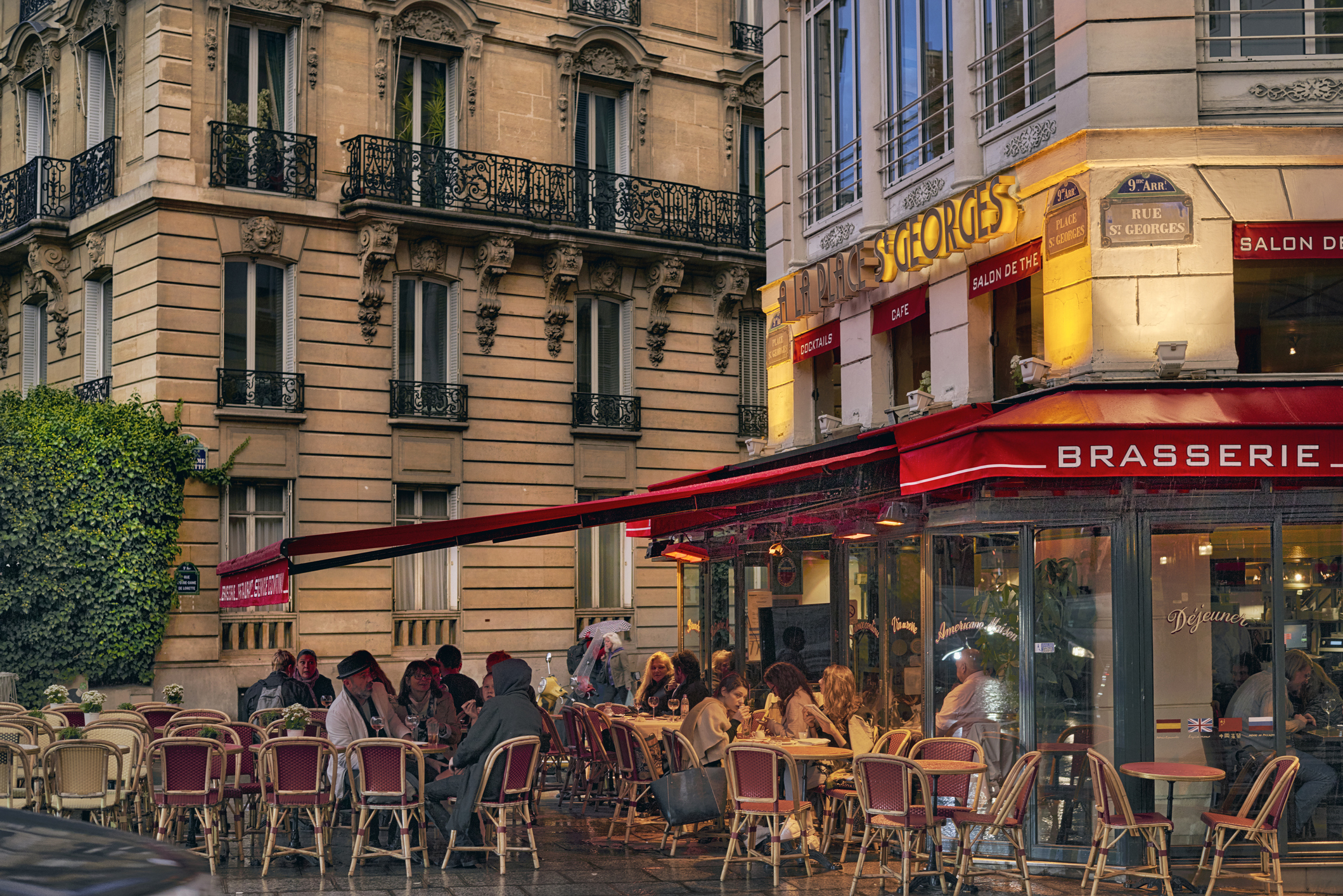 Café restaurant HSA